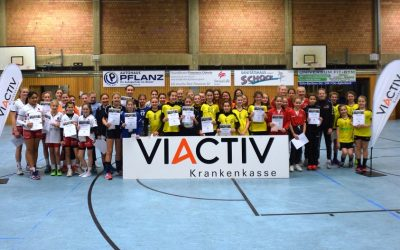 VIACTIV-CUP, Tag 1: Solingen siegt bei wD-Jugend – ASC 09 Zweiter!