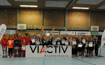 VIACTIV-CUP, Tag 2: Siege für Ewaldi und Aldekerk, Plätze 2 und 3 für den ASC 09