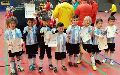 Turniersieg in Hamm – Minikicker 1 bleiben weiter ungeschlagen