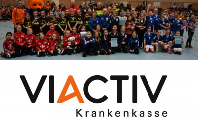 ASC 09 startet mit VIACTIV-Cup für E- und D-Jugend ins neue Jahr