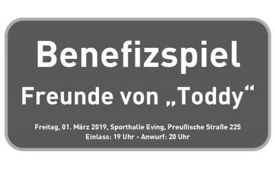 """""""Freunde von Toddy"""" – ASC 09 und TV Brechten organisieren Benefizspiel"""
