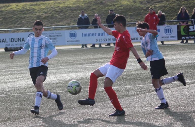 Erste Saisonniederlage in der Bezirksliga – C1-Junioren verlieren bei RW Lüdenscheid