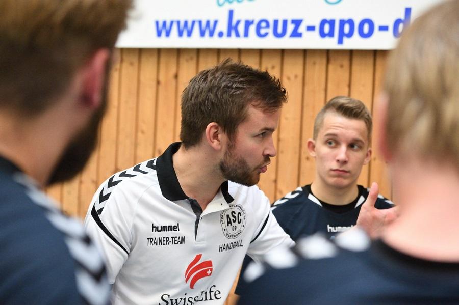 Kreisliga, 1. Spieltag: DJK Oespel-Kley 2 – ASC 09 24:23 (14:12)