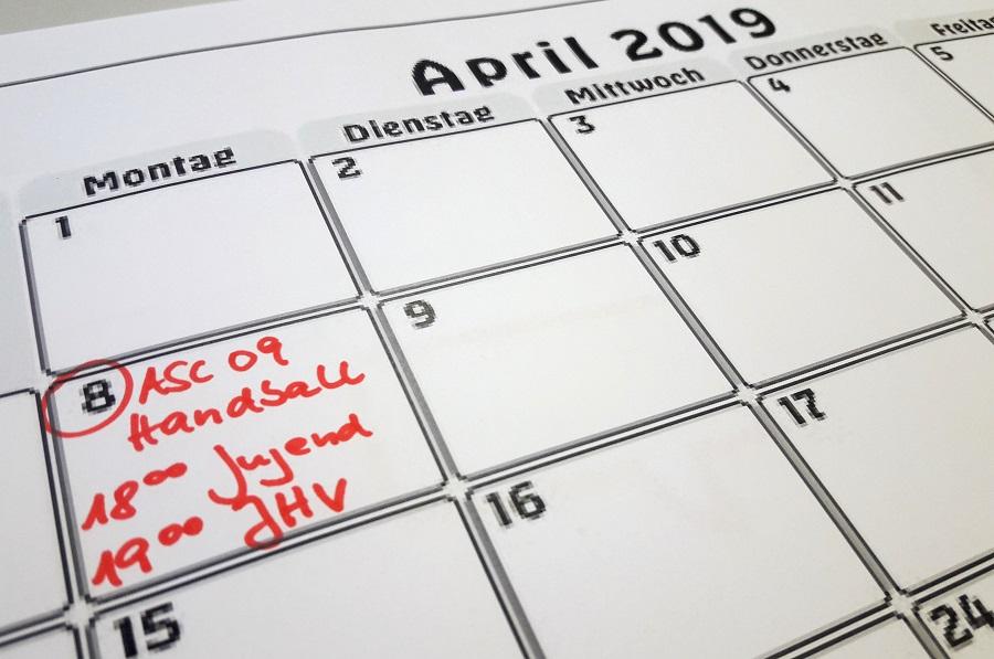 Einladung zur Jugend- und Mitgliederversammlung am 8. April