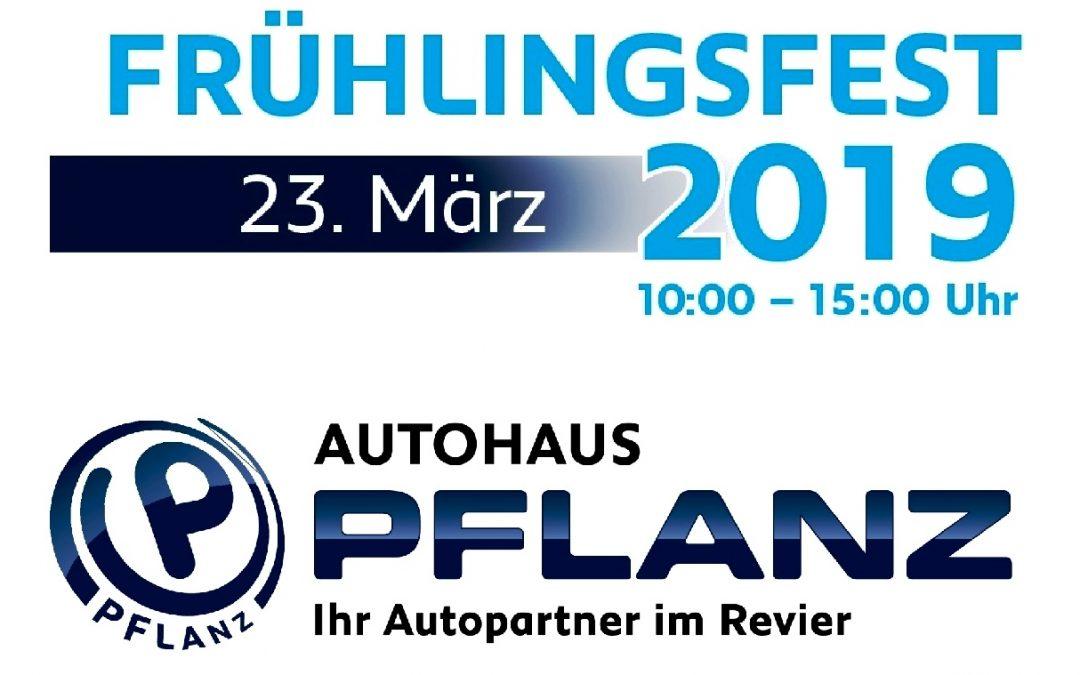 Frühlings-Fest bei PFLANZ mit Specials für ASC 09-Handballer!