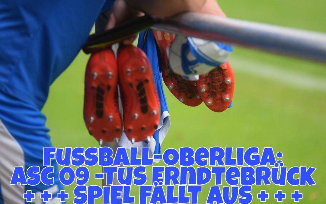 Fußball: Spiel gegen Erndtebrück fällt aus – Die Zweite muss nach Oespel!