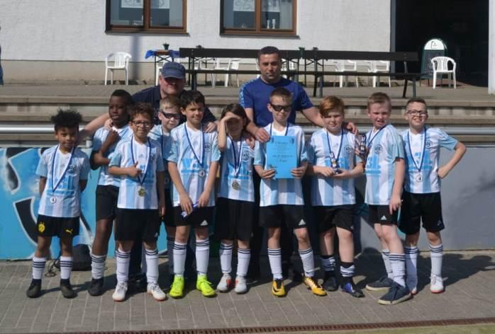 E3-Junioren – 3. Platz beim Osterturnier des VfL Schwerte
