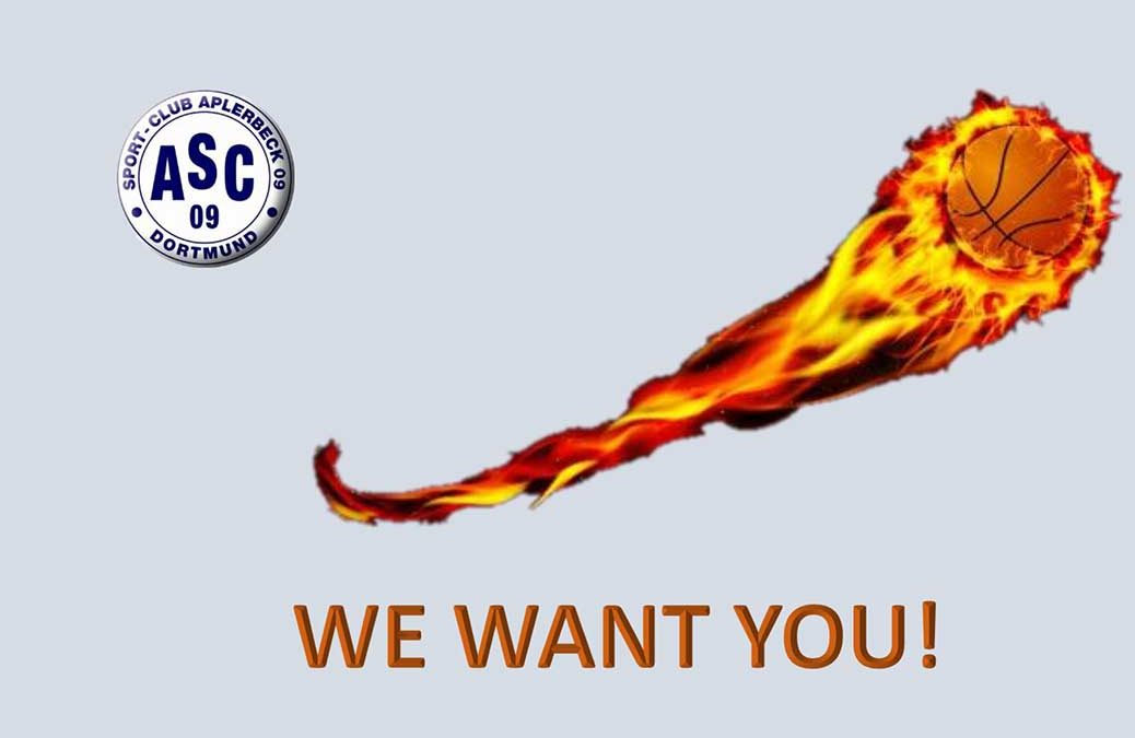 We want you! – Try Outs für ein neues Basketball-Herrenteam