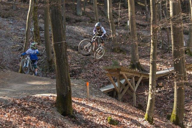 Osterfreizeit der Mountain-Biker in Winterberg: Hier gibt's die schönsten Bilder!