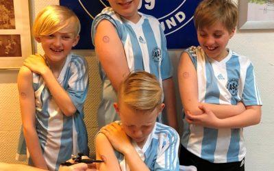 "Arbeitsgruppe ""Vereinsbindung""  beschließt Tätowierungen für alle ASC-Juniorenspieler"