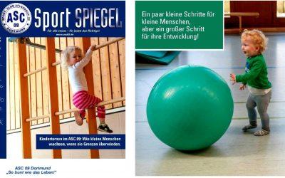 Das pralle Vereinsleben auf 68 Seiten: Der neue ASC 09-Spiegel ist online!