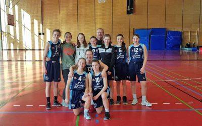 U 16  Mädchen : Hoher Sieg im letzten Saisonspiel