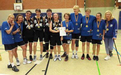 Deutscher Vizemeistertitel für die 'Glück auf OldStars'  – Ü50 Damen