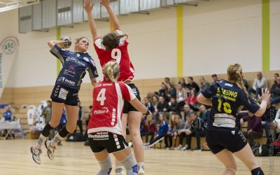 Oberliga, 24. Spieltag: ASC 09 – SG ETSV Ruhrtal Witten 40:18 (23:8)
