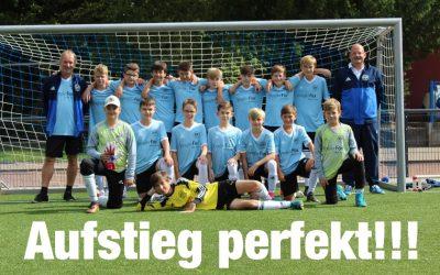 D3-Junioren – Aufstieg nach Sieg gegen des SV Wambel perfekt