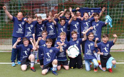 D3-Junioren feiern Meistertitel und Aufstieg in die Kreisliga B