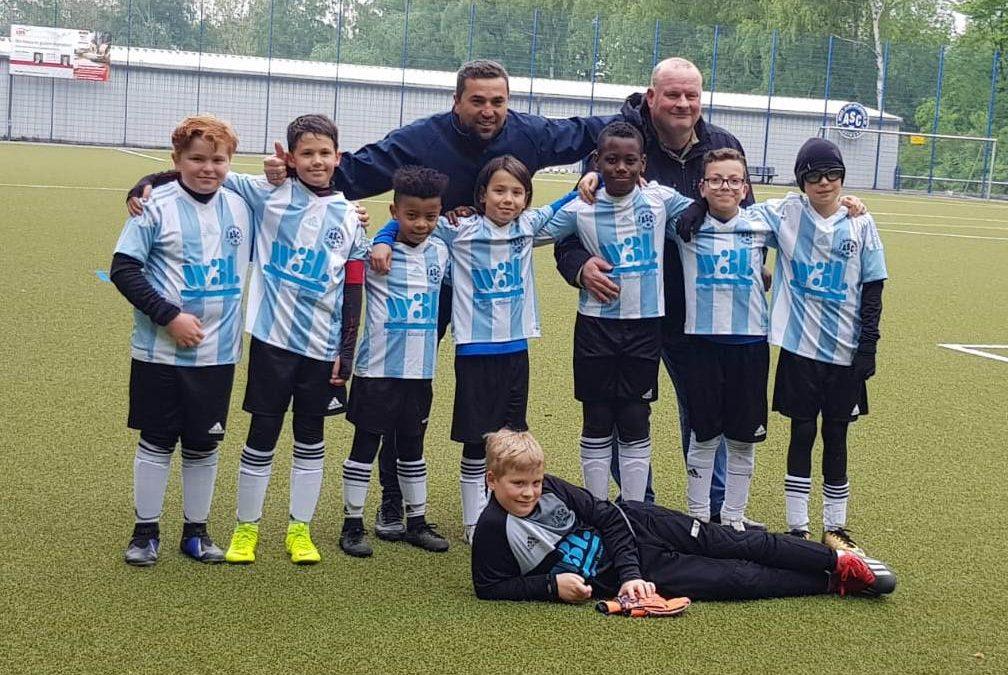 E3-Junioren – 3-2 Heimsieg gegen den BSV Schüren festigt den 4. Tabellenplatz