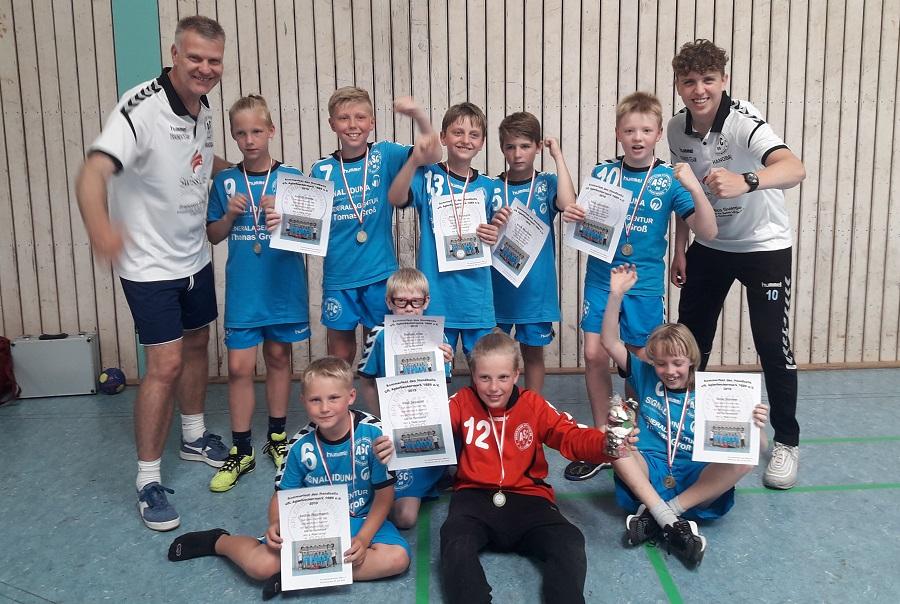 Männliche E-Jugend gewinnt Turnier des VfL Aplerbeckermark