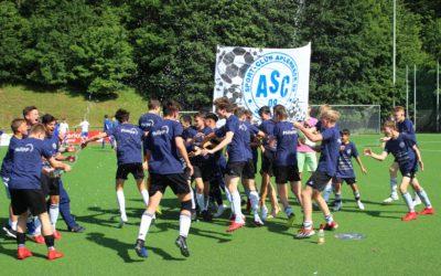 Nach dem Aufstieg in die Landesliga – C1-Junioren feiern nun auch die Meisterschaft
