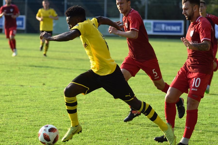 BVB II besiegt Preußen Münster im Waldstadion mit 3:2