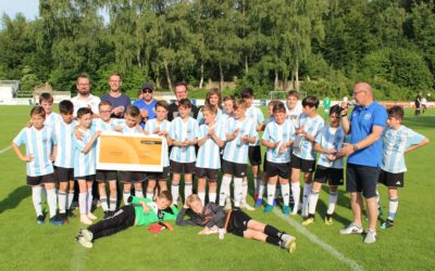 Interhyp verlängert Partnerschaft mit der ASC 09 Fußballjugend