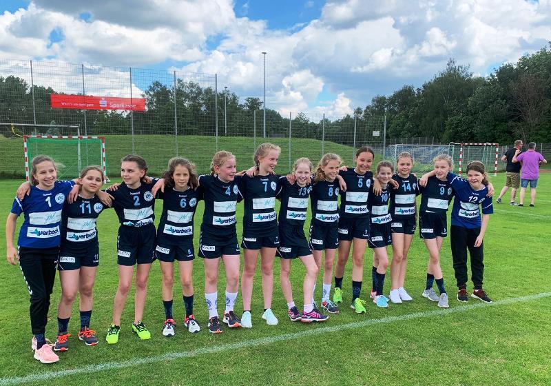 Unsere neuformierte D-Jugend für die Saison 2019/20.