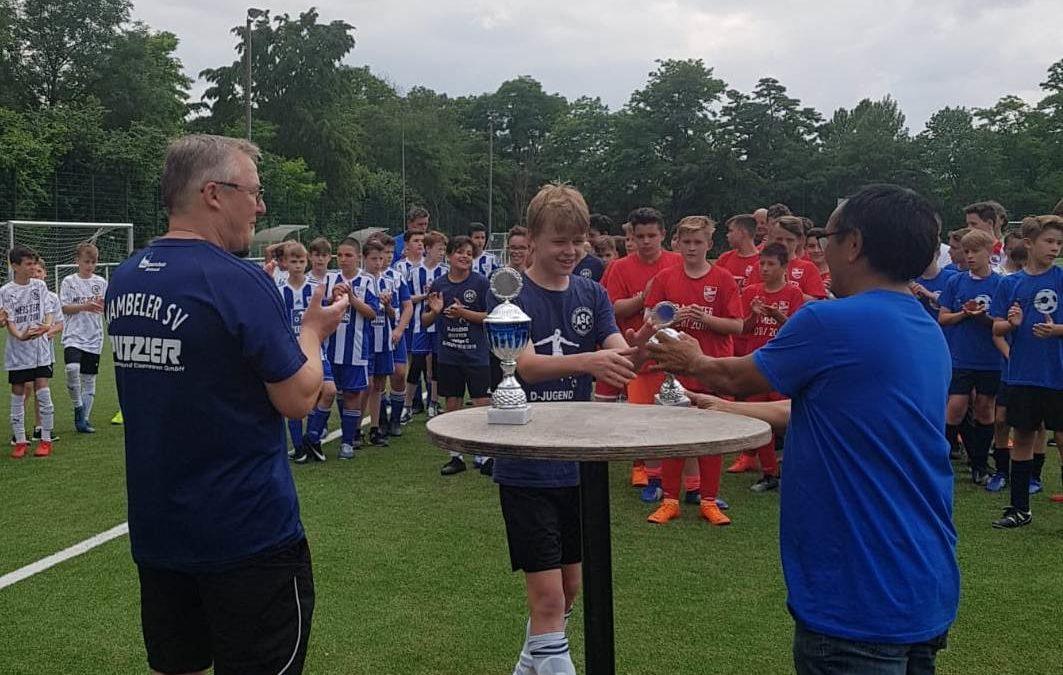 """D3-Junioren – 2. Platz beim """"Meister der Meister-Turnier"""""""