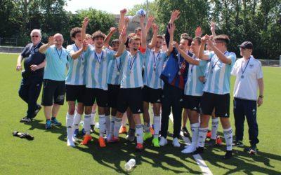 Ein weiterer Aufstieg für den ASC-Juniorenfußball – B2-Junioren holen Meisterschaft