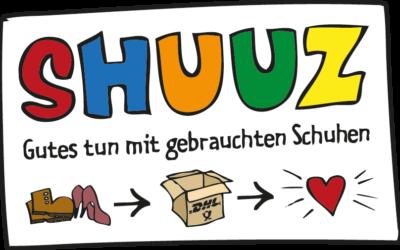 Gebrauchtschuhe sammeln beim Sponsorenlauf: ASC 09 unterstützt Shuuz!