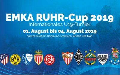 EMKA-RUHR-CUP 2019 – Champions-League Niveau im Waldstadion