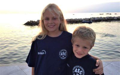 ASC 09-Urlaubsfotoaktion: Charlotte & Moritz grüßen aus Kroatien