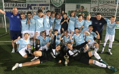 C2-Junioren gewinnen den EDEKA-Meierjohann-Cup in Sölde