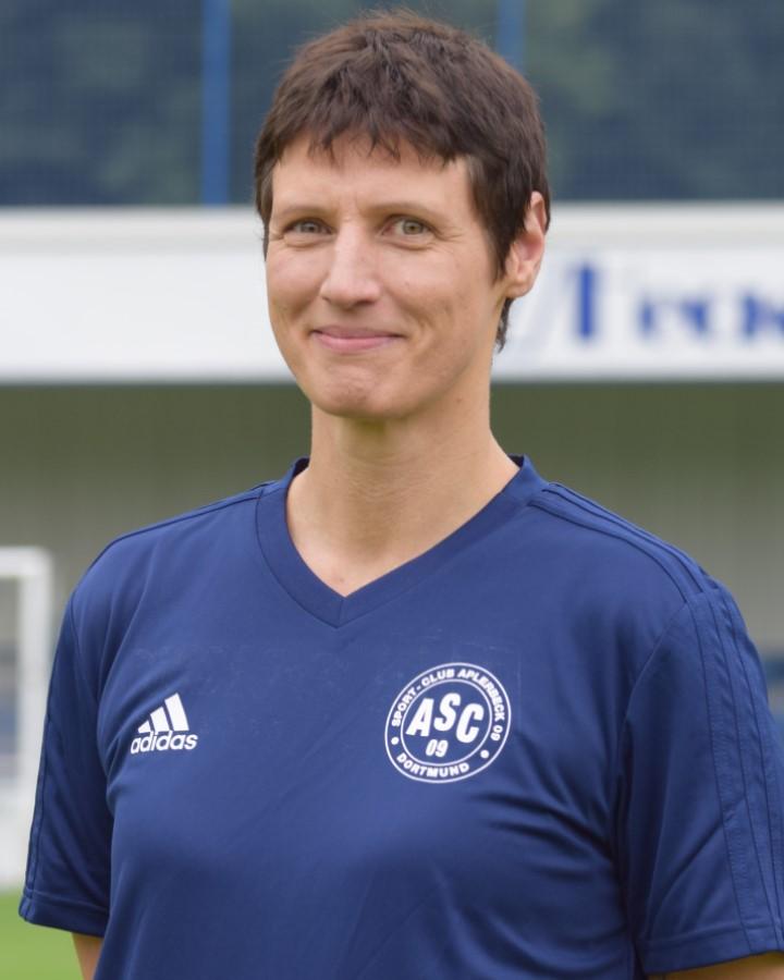 Mannschaftsärztin Dr. Nicole Sellhast