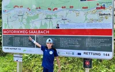 ASC 09-Urlaubsfotoaktion: Janni grüßt aus Saalbach Hinterglemm