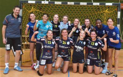 Mit Rumpfkader: Handball-Damen gewinnen Terra-Cup in Hüllhorst