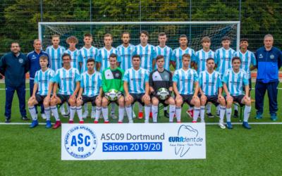 A-Junioren – mit vier Siegen zur Tabellenspitze