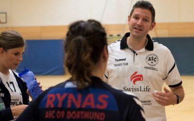 Damen-Trainer Tobias Genau verlässt ASC 09-Handballer am Saisonende