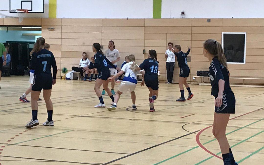 Kreisliga InDo, 2. Spieltag: ASC 09 – HSC Haltern-Sythen 33:17 (15:7)