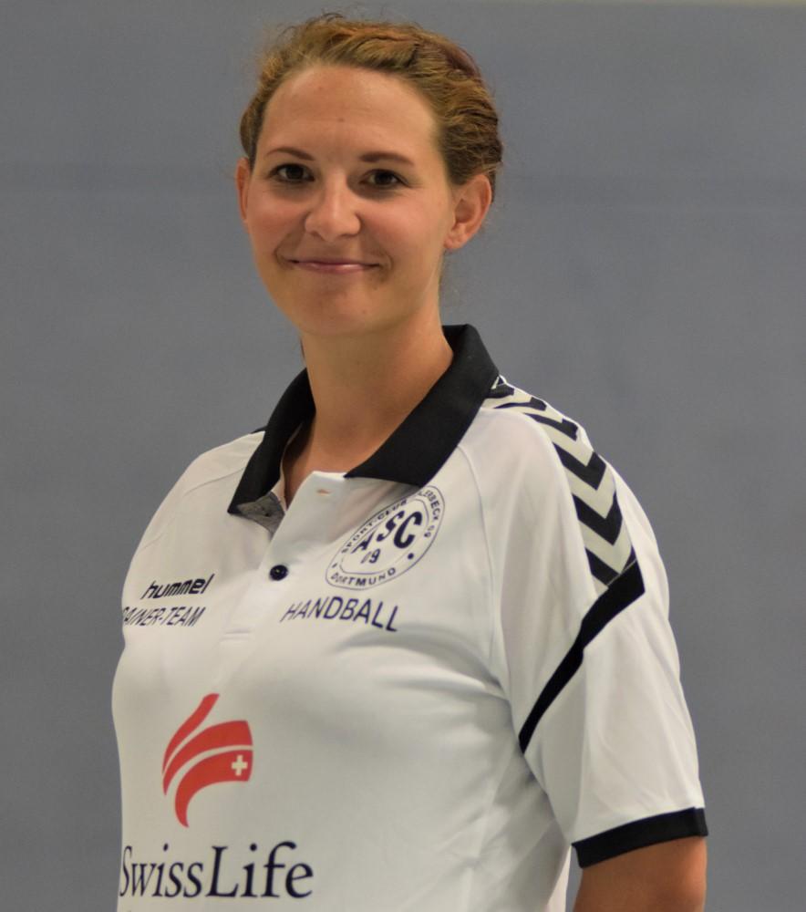 Trainerin Anika Ganserich
