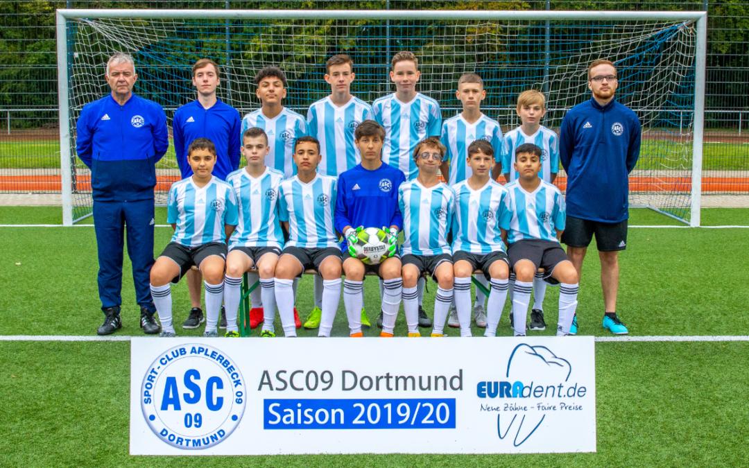 Erfolgsquartett komplett – C3-Junioren steigen in die Kreisliga B auf