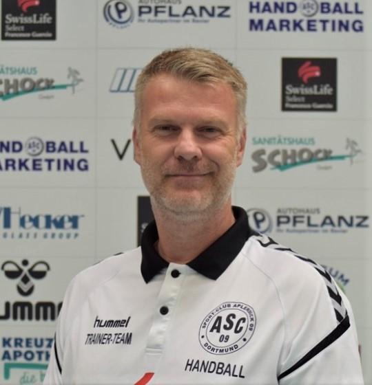 Trainer Timo Ilske