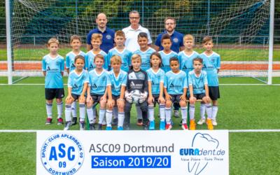 Dritter Sieg in Serie – E2-Junioren holen sich die alleinige Tabellenführung