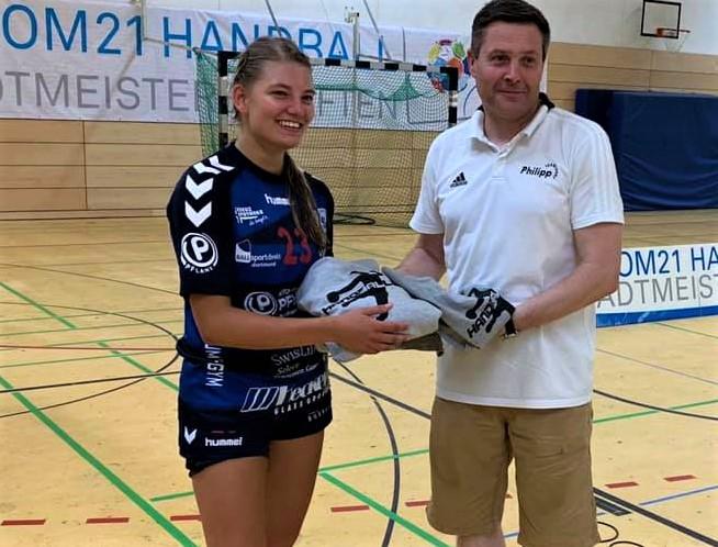 Bärenstarker Auftritt vor allem im Finale: Sonia Zander wurde als beste Turnierspielerin ausgezeichnet.