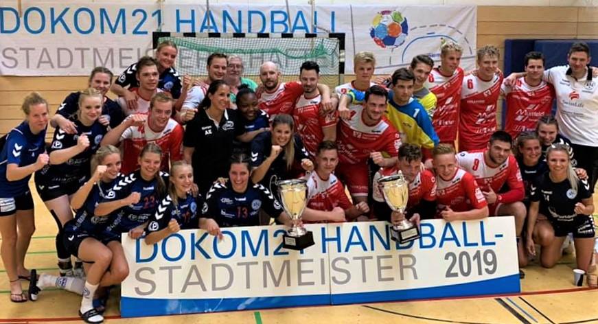 Gemeinsames Siegerfoto der Stadtmeister ASC 09 und OSC.