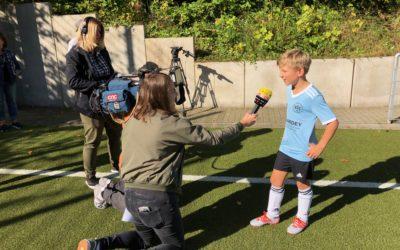 Fair-Play-Kampagne des DFB – Große Berichterstattung im Waldstadion