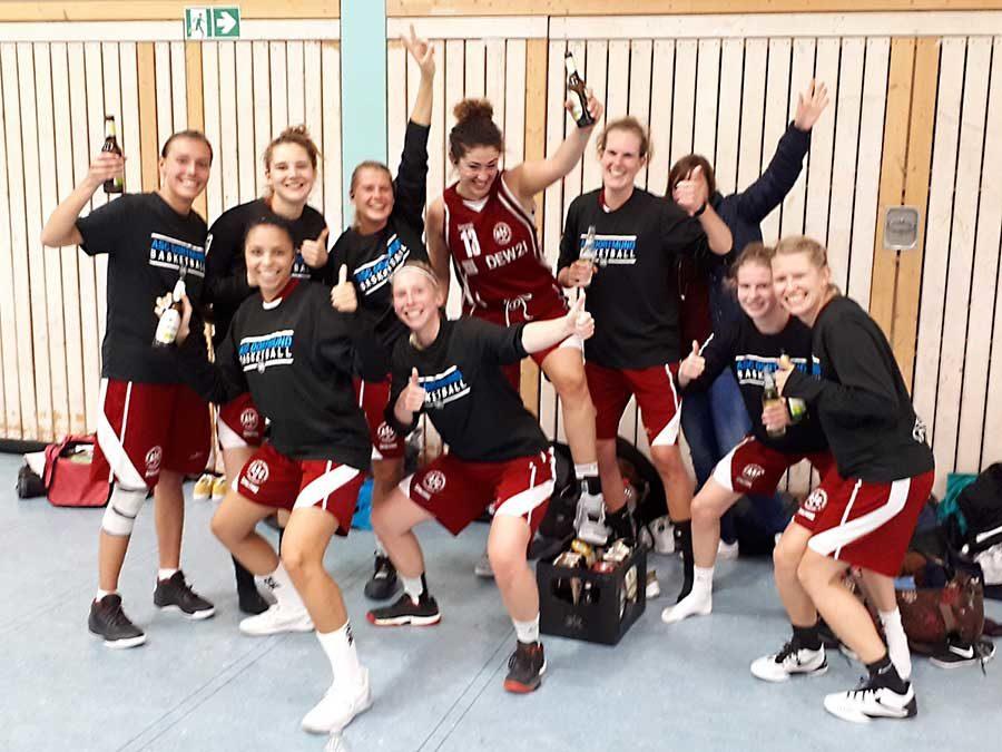 Basketball: 1. Damen erkämpfen sich den Heimsieg