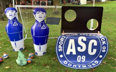 ASC 09-Torwand als Kinder-Magnet auf dem Aplerbecker Familienfest