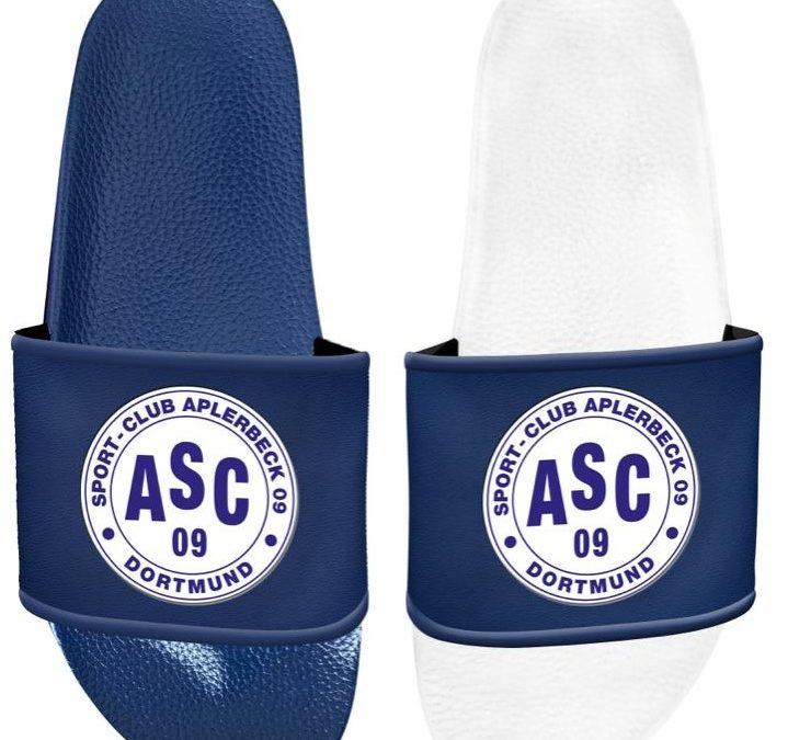 NEU: Badeschlappen für die ASC Basketballer