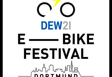 Mountainbiker beim E-Bike-Festival 2020 in Dortmund