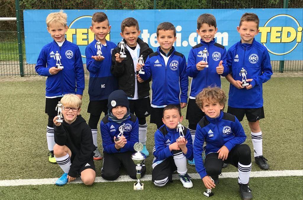 F2-Junioren holen den Tedi-Cup 2019